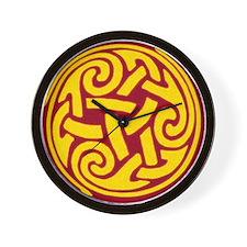 Celtic Spiral Wall Clock