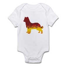 Pyrenean Flames Infant Bodysuit