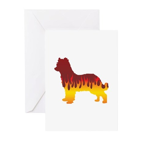 Pyrenean Flames Greeting Cards (Pk of 10)