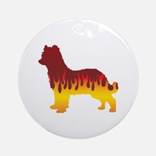Pyrenean Flames Ornament (Round)