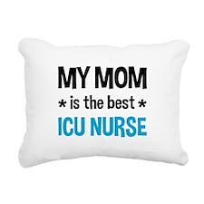 ICU Nurse Mom Rectangular Canvas Pillow