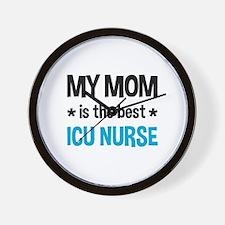 ICU Nurse Mom Wall Clock