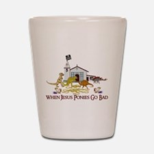 Jesus Ponies - Section Two Shot Glass