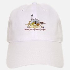Jesus Ponies - Section Two Baseball Baseball Cap