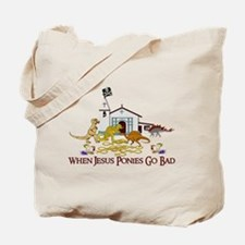 Jesus Ponies - Section Two Tote Bag