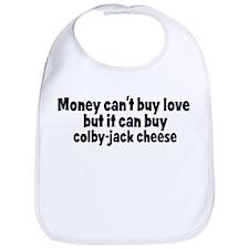 colby-jack cheese (money) Bib