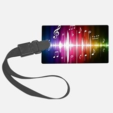 Musical Note Luggage Tag