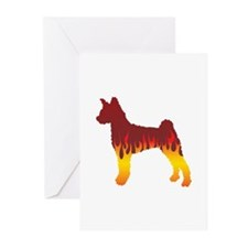 Pumi Flames Greeting Cards (Pk of 10)