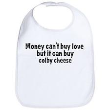colby cheese (money) Bib