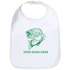 Custom Green Bass Bib