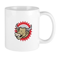 Laughing Cow Head Cartoon Mugs