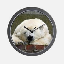 Polar bear 003 Wall Clock