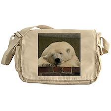Polar bear 003 Messenger Bag