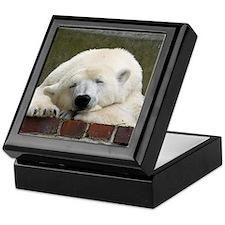 Polar bear 003 Keepsake Box