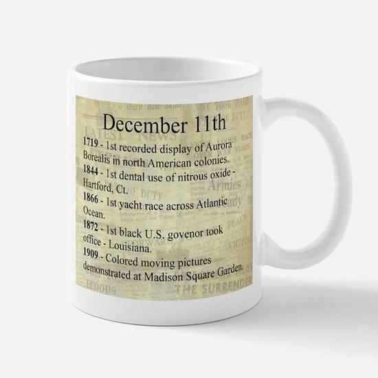December 11th Mugs