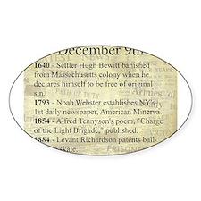 December 9th Decal