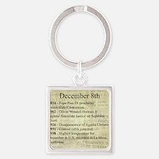 December 8th Keychains