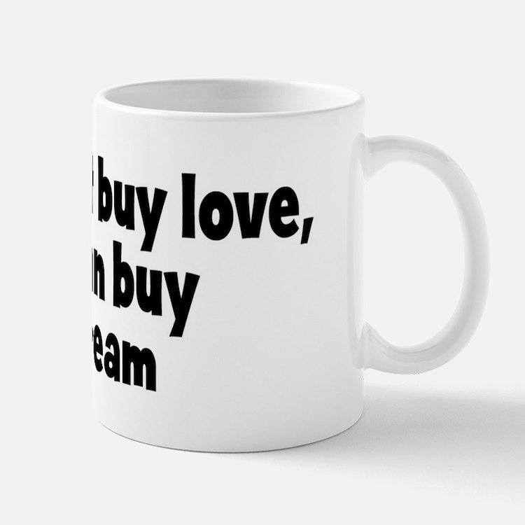 sour cream (money) Mug