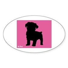 Schnoodle iPet Oval Decal