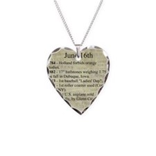 June 16th Necklace
