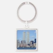 World Trade Center Square Keychain