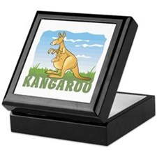 Kid Friendly Kangaroo Keepsake Box