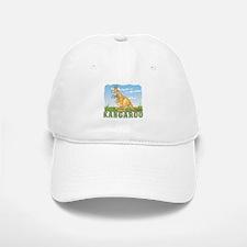 Kid Friendly Kangaroo Baseball Baseball Cap