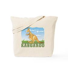 Kid Friendly Kangaroo Tote Bag
