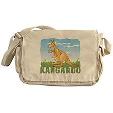 Kid Friendly Kangaroo Messenger Bag