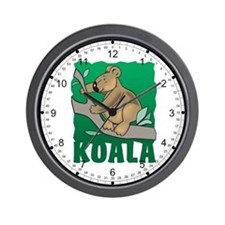 Kid Friendly Koala Wall Clock