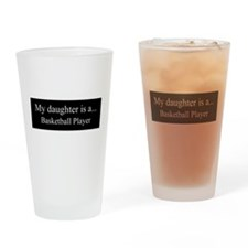 Daughter - Basketball Player Drinking Glass