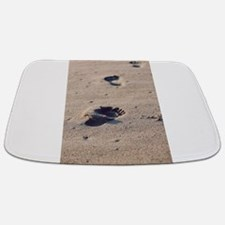 Footprints In The Sand Bathmat