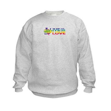 Live Let Love TX Sweatshirt