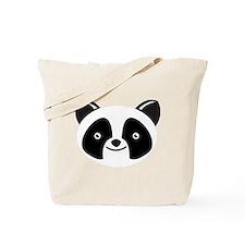 Super Kawaii panda Face smiling Tote Bag