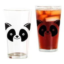 Super Kawaii panda Face smiling Drinking Glass