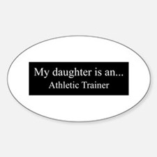Daughter - Athletic Trainer Decal
