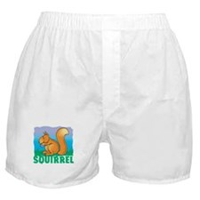 Kid Friendly Squirrel Boxer Shorts