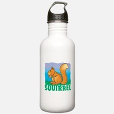 Kid Friendly Squirrel Water Bottle