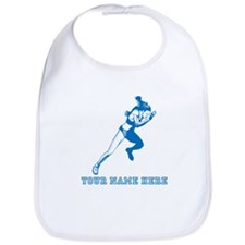 Custom Blue Woman Sprinter Bib
