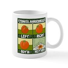 Tomato Handedness Mugs