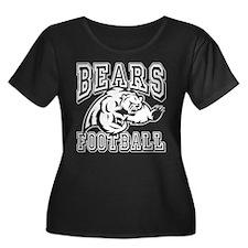 Bears Football Plus Size T-Shirt