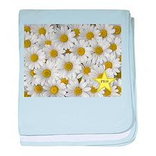PEO Daisy baby blanket