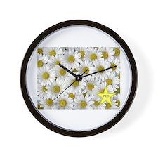 PEO Daisy Wall Clock