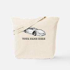 Custom Race Car Tote Bag