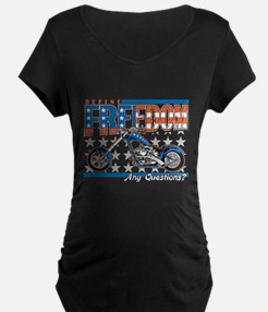 Define Freedom Motorcycle T-Shirt