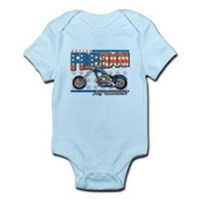 Define Freedom Motorcycle Infant Bodysuit