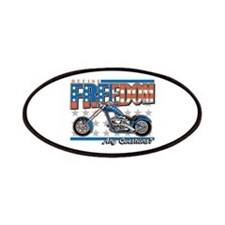 Define Freedom Motorcycle Patches