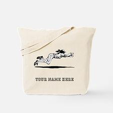 Custom Diving Softball Catch Tote Bag