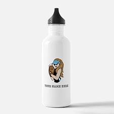 Custom Softball Pitcher Water Bottle