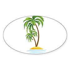 Palm Tree Bumper Stickers